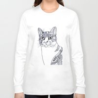 ellie goulding Long Sleeve T-shirts featuring Ellie illustration  by  Steve Wade ( Swade)