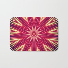 Neon Burst Bath Mat