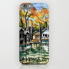 Boat Club, Minnesota iPhone Case