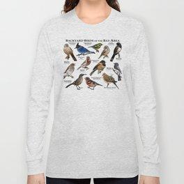 Backyard Bird of the Bay Area Long Sleeve T-shirt