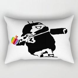 Banksy + Android = Bankdroid Rectangular Pillow
