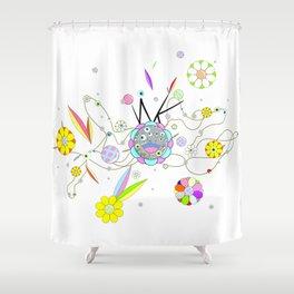 Flomo by ilya konyukhov (c) Shower Curtain