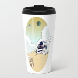 R2-d2 and BB-8 Travel Mug