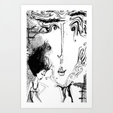 So So Real Art Print