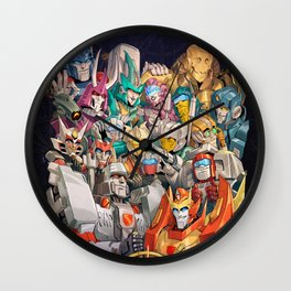 Wanderers Wall Clock