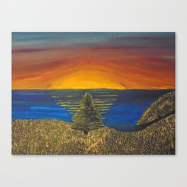 Bright Waters Canvas Print