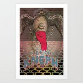 Fist of Kneph Art Print