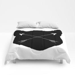 Black Cat & Arrows Comforters