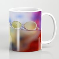 bubbles Mugs featuring Bubbles by Brian Raggatt