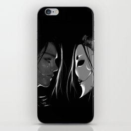 Vax and the Raven Queen iPhone Skin
