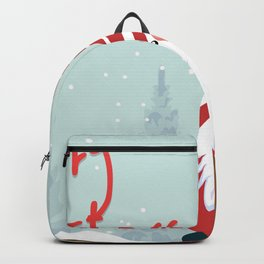Merry Christmas Gnomie  Backpack
