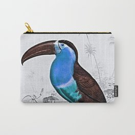 Tropical Exotic Fantasy Bird Carry-All Pouch