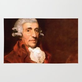 Franz Joseph Haydn (1732-1809) by John Hoppner in 1791 Rug