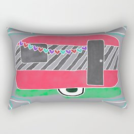 Take A Break Glamping Style! Rectangular Pillow