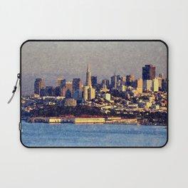 TEXTURAL SAN FRANCISCO Laptop Sleeve