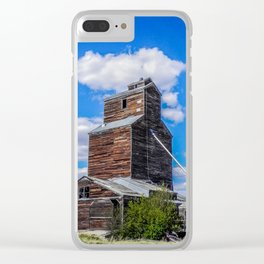 Lothair, Montana Elevator Clear iPhone Case