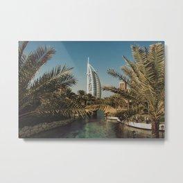 Burj Al Arab - Dubai Metal Print