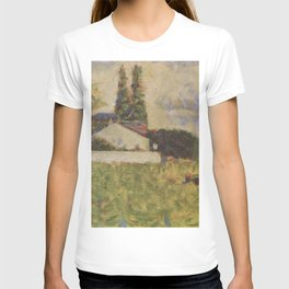 Georges Seurat - House among Trees T-shirt