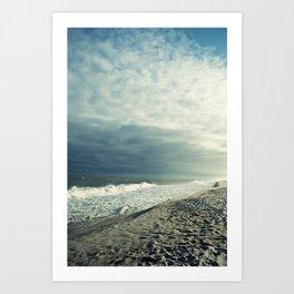 Beached Art Print