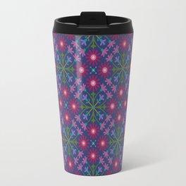 Azulejos Navy Travel Mug