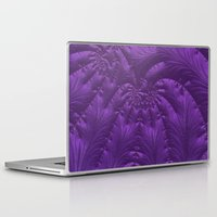 renaissance Laptop & iPad Skins featuring Renaissance Purple by Charma Rose