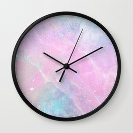 Iridescent Marble 2 Wall Clock