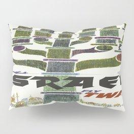 Vintage poster - Israel Pillow Sham