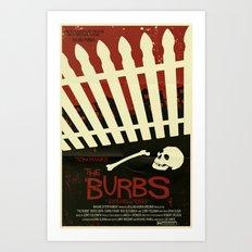 The 'Burbs Art Print