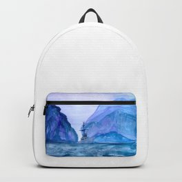 Heading Home from the Sea Backpack