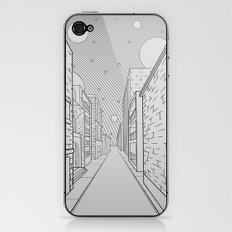 Cosmos City iPhone & iPod Skin