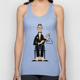 The Percussionist Unisex Tank Top