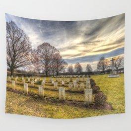 World War 2 War Graves Budapest Wall Tapestry