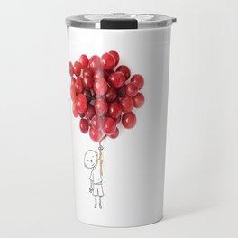 Boy with grapes - NatGeo version Travel Mug