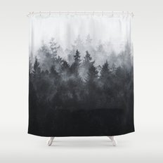 The Heart Of My Heart // Midwinter Edit Shower Curtain