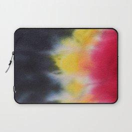 Belgium Flag Tie Dye Laptop Sleeve