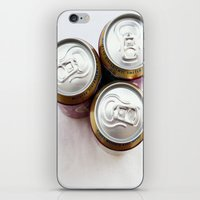 beer iPhone & iPod Skins featuring Beer  by Steve P Outram