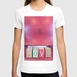 Love Red Blocks T-shirt