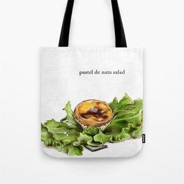 La Cuisine Fusion - Pastel de Nata Salad Tote Bag