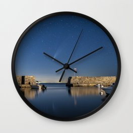 Comet Neowise at Lanes cove Wall Clock