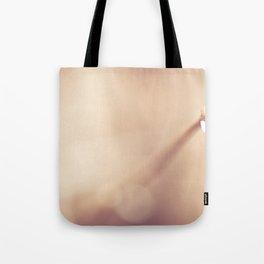 Winter Raindrops Tote Bag