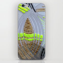 Oh! Embroidered 1 iPhone Skin