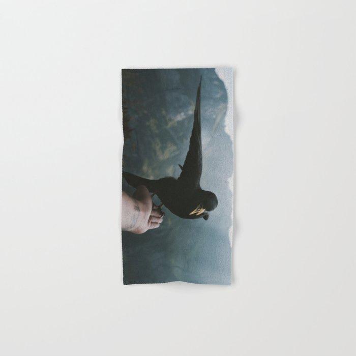 A wild Bird - landscape photography Hand & Bath Towel