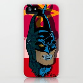 The Bat vs Khinde Wiley Variant  iPhone Case