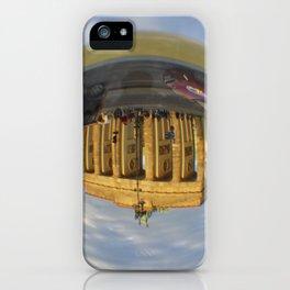 Brandenburg Gate, Berlin / Glass Ball Photography iPhone Case