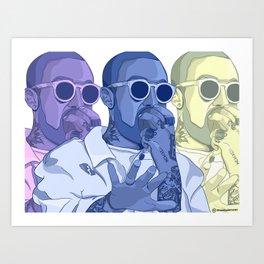 Pop Art Mac Miller  Art Print