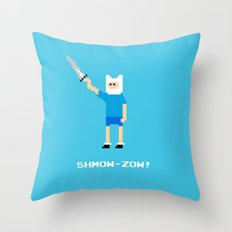 Shmow-Zow! Throw Pillow