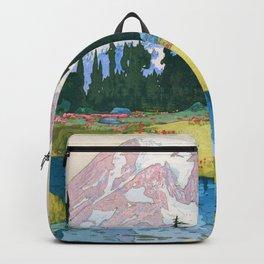 Yoshida Hiroshi - Mt.rainier - Digital Remastered Edition Backpack