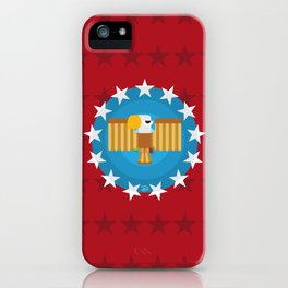 American (Red) iPhone Case