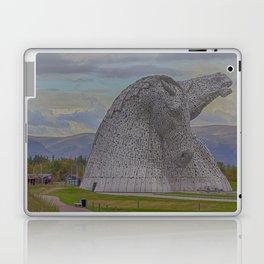 The Kelpies. Laptop & iPad Skin