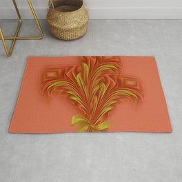 Color Meditation - Orange  Rug